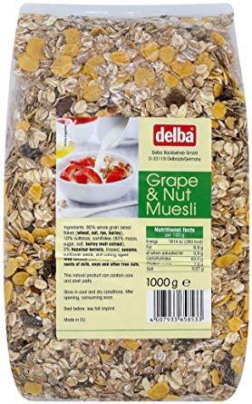 豊産業 デルバ グレープ&ナッツミューズリー(1kg)...