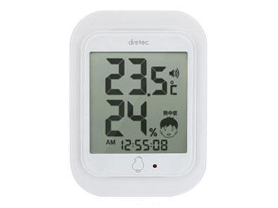 ドリテック(dretec) ドリテック デジタル温室時計...