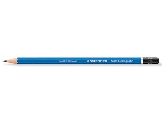 マルス ルモグラフ 製図用高級鉛筆100 HB 12本 ス...