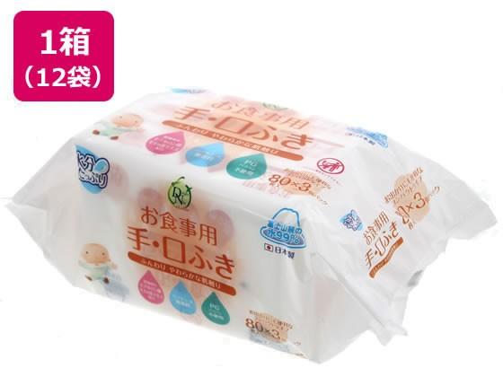 DN99 お食事用手口ふき 80枚×3P×12袋 大一紙工 ...