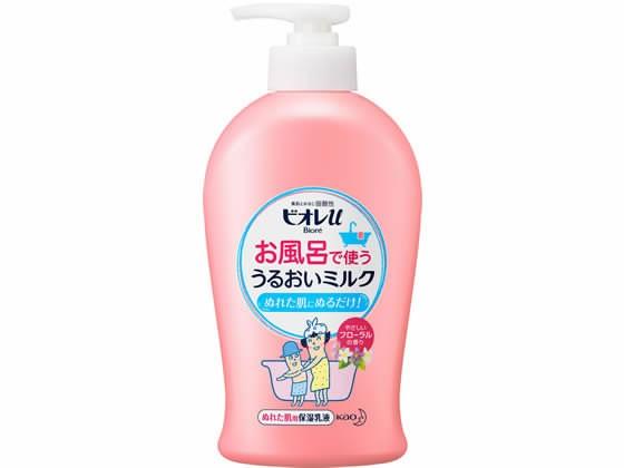 ビオレu お風呂で使ううるおいミルク フローラルの香り300ml KAO