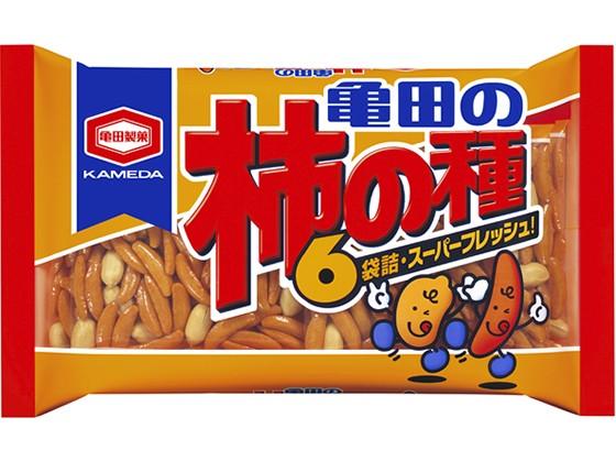 亀田の柿の種 6袋 200g 亀田製菓