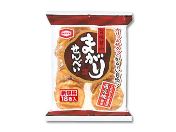 まがりせんべい 18枚 亀田製菓 5517868