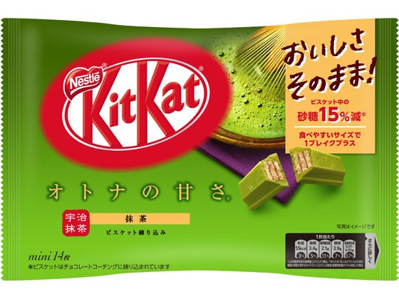キットカットミニ オトナの甘さ 抹茶 14枚 ネスレ...