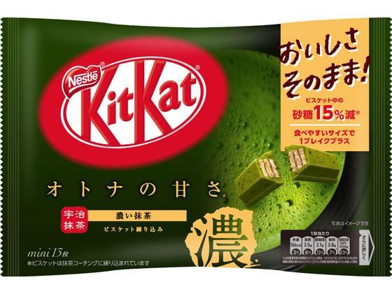 キットカットミニ オトナの甘さ 濃い抹茶 13枚 ネ...