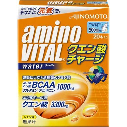 アミノバイタル クエン酸チャージウォーター(20本...