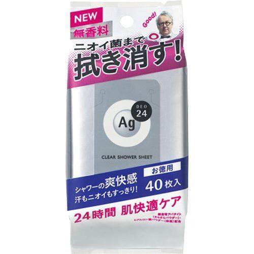 エージーデオ24 クリアシャワーシート NA 無香料(...