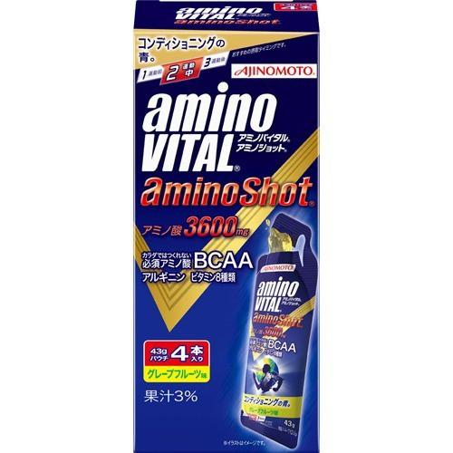アミノバイタル アミノショット(43g*4本入)