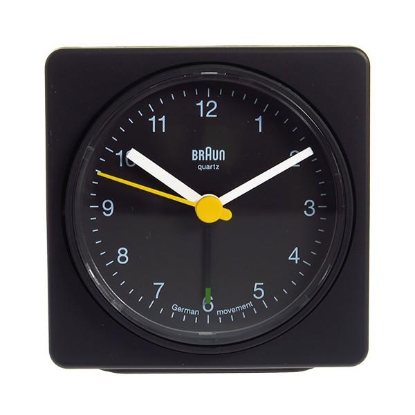 ブラウン BRAUN クロック 置き時計 BNC011BKBK ブラック  ブラック