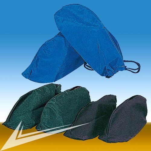シューズケース リンクル ブルー、グリーン、ブラ...