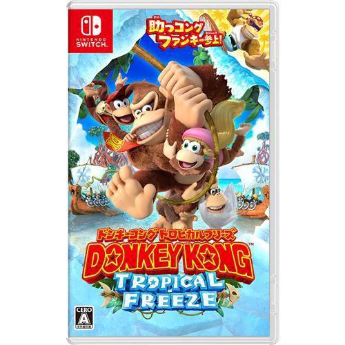 【Nintendo Switch】ドンキーコング トロピカルフリーズ
