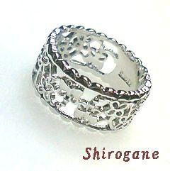 日本製・オーダーメイド Shirogane 指輪◆SILVER9...