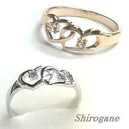 《日本製 オーダーメイド》Shirogane 指輪◆スワ...