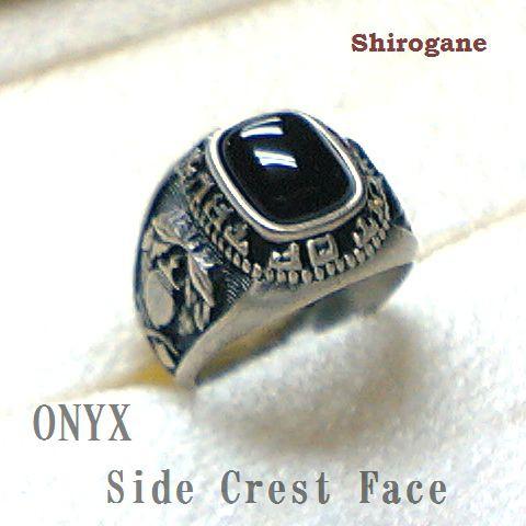 日本製 オーダーメイド Shirogane 指輪◆オニキス...