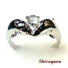 日本製 オーダーメイド Shirogane 指輪◆ムーンス...