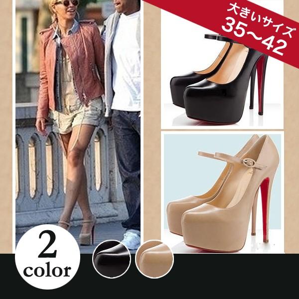 【靴】パンプス◆合成皮革◆【大きいサイズ有】前...