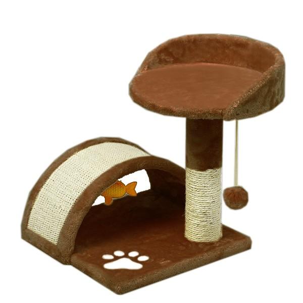 ペット用品 ネコ 猫用◆ミニキャットタワー 爪と...