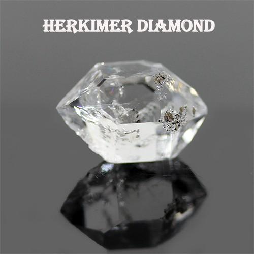 天然石 ニューヨーク産 ハーキマーダイヤモンド A...