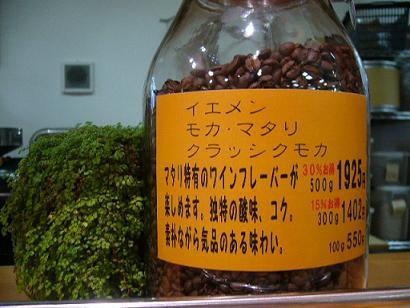 【自家焙煎珈琲豆】イエメン モカ・マタリ クラシ...