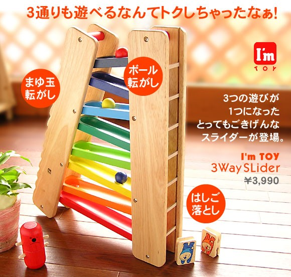 3wayスライダー [幼児玩具] (4536257001775)