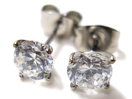 即納 ■juraice■CZダイヤモンドステンレスピアス...