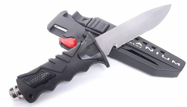 オーシャンマスター  米軍採用ベータチタンナイフ...