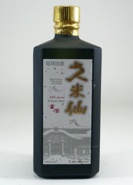 久米仙酒造 ブラック古酒 泡盛  43度 720m...
