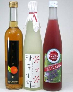 【送料無料】柚子小町+天然ぶどうリキュール+あん...