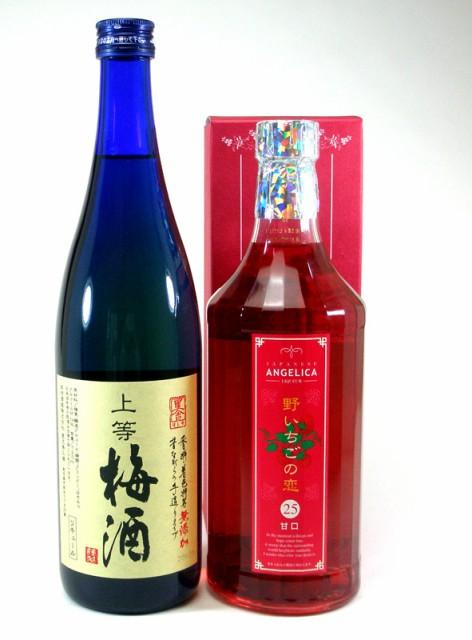 リキュールおすすめ2本セット(本格梅酒・野いち...