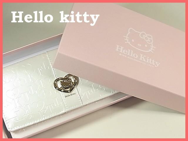【数量限定】大人気!ハローキティー長財布◆白◆...