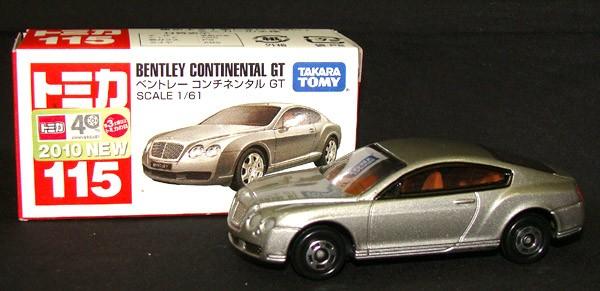 トミカ【No.115 ベントレー コンチネンタル GT】...