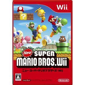 【送料無料】 New スーパーマリオブラザーズ Wii...