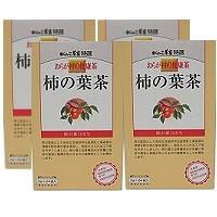 柿の葉茶  3gx24袋 x4箱(徳用) 【国内産/...