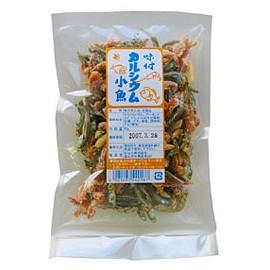 ■味付カルシウム小魚70g/かね七/380円/煮干/