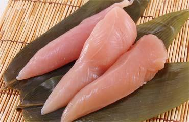 国産鶏肉 鶏ささみ 4kg(2kg×2袋) ササミ 業務用 ...