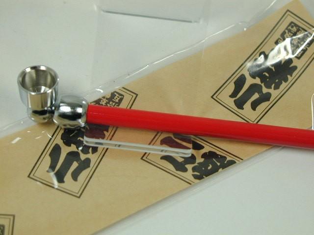 日本製きせる 小粋 こいき煙管 キセル/レッド赤...