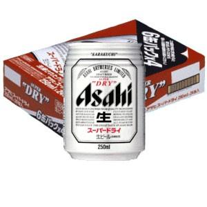 アサヒ スーパードライ135ml 24缶入り(1ケース)