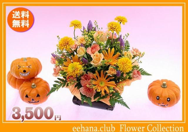 ポイント5倍!10月の誕生花★オレンジアレンジ3,5...