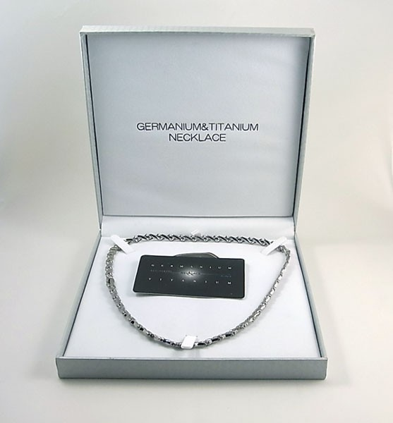 《化粧箱》ゲルマニウムネックレス&ゲルマニウム...