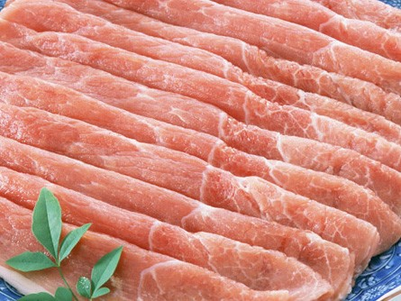 豚モモうすぎり400g≪肉のとみや≫(鍋)