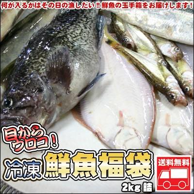 鮮魚を急速冷凍!北海道お魚福袋2kg【送料無料】
