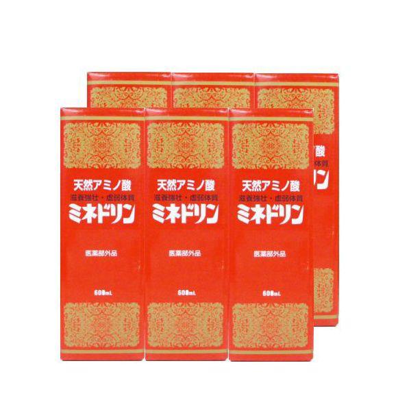 ミネドリン「天然アミノ酸ドリンク」 600ml 【送...