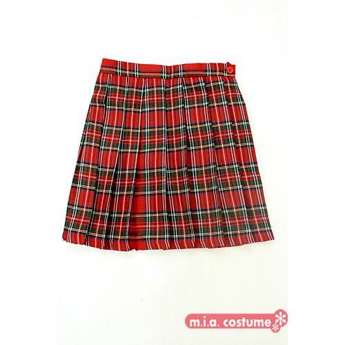 ◆制服 学校 スカート◆チェック柄プリーツスカ...