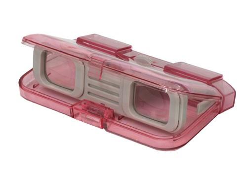 オペラグラス 3×28mm ピンク 双眼鏡 即納!!