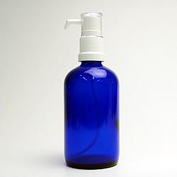 ポンプ ガラス(青色) 100ml