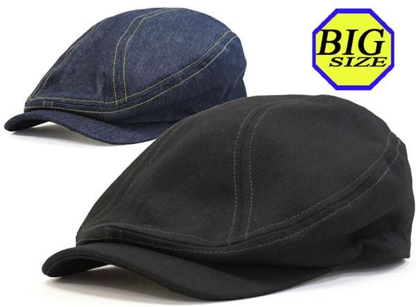 大きいサイズ/ハンチング/大きい帽子/65cm対応/ヘ...