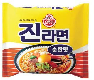 オットギ ジンラーメン(純味)(120g) ★韓国...
