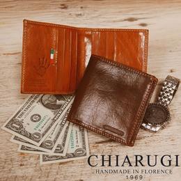CHIARUGI コンパクト二つ折り財布