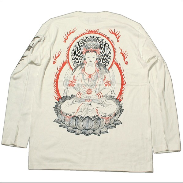 【NEW】【4】和柄長袖Tシャツ「大日如来」(だい...