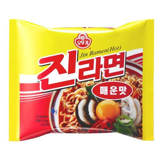 オットギ ジンラーメン(辛口)(120g) ★韓国...